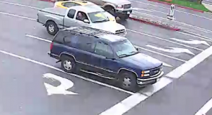 Home Depot robbery suspect vehicle. / Photo: SacPD