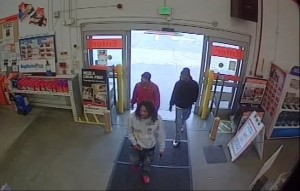 Home Depot robbery suspects. / Photo: SacPD