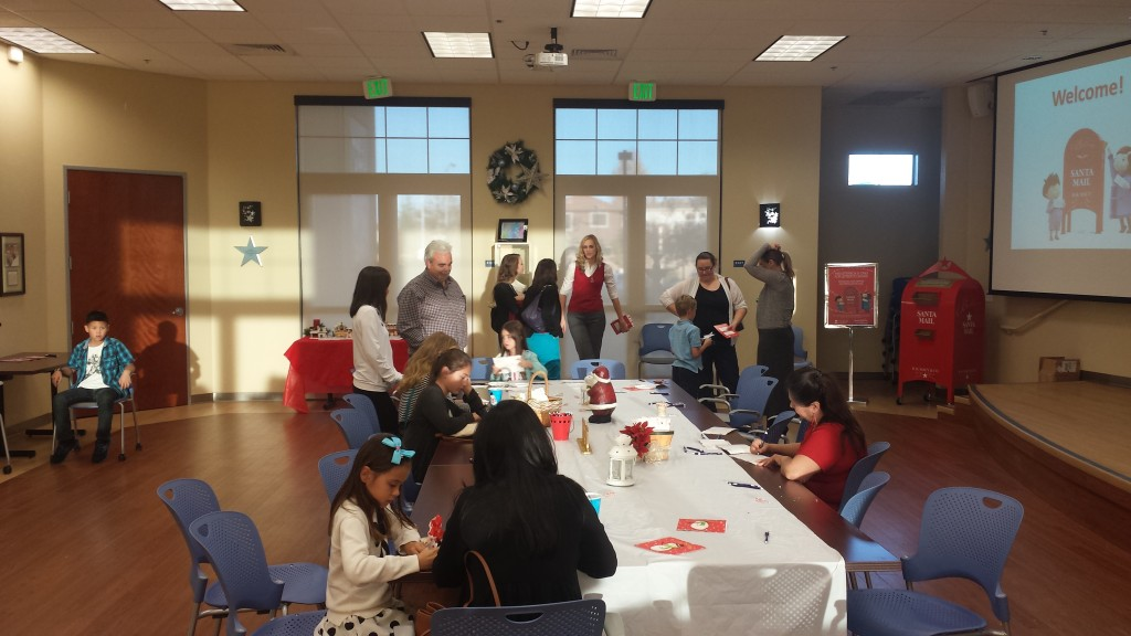 The Wishing Spot in Natomas held a letter-writing party in November as part of the Macy's Believe campaign. / Photo: M. Laver