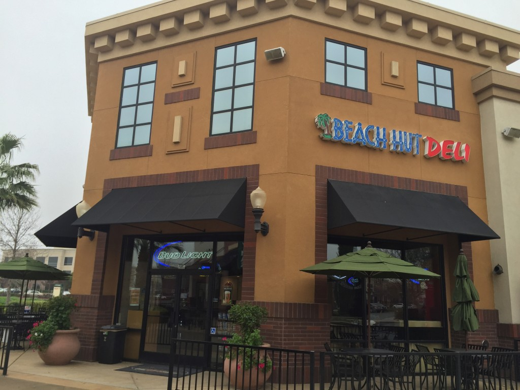 Beach Hut Deli's new location in Natomas boasts a larger outdoor dining area.