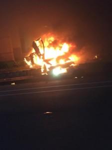 Police Investigating Cause of Fiery Natomas Crash