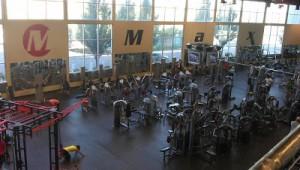 The gym boasted more than 100 pieces of cardio equipment. / NatomasBuzz.com File Photo
