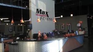 Members said the entry desk at Max Fitness was cleared off over the weekend. / NatomasBuzz.com File Photo