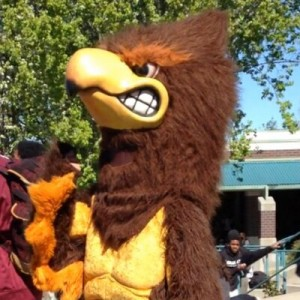For a Good Cause: Natomas High's Mascot Seeks Help for 'Big' Senior Send Off