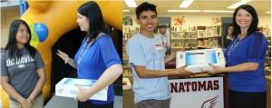 Two Seniors Awarded Chromebooks for College