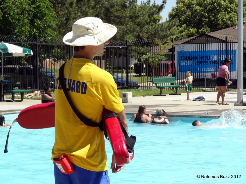 Opening day at Doyle Pool in 2012. / Photo: C. Shannon