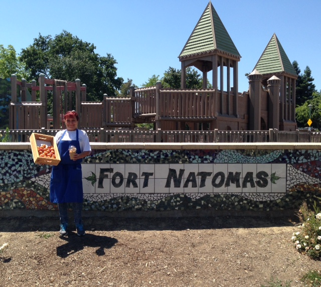 This is Garlene Vallejos Natomas Nutrition Services at the South Natomas Library. / Photo: NUSD