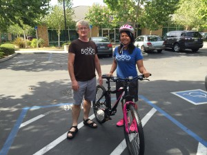 Natomas Cares: Stolen Bicycles Replaced