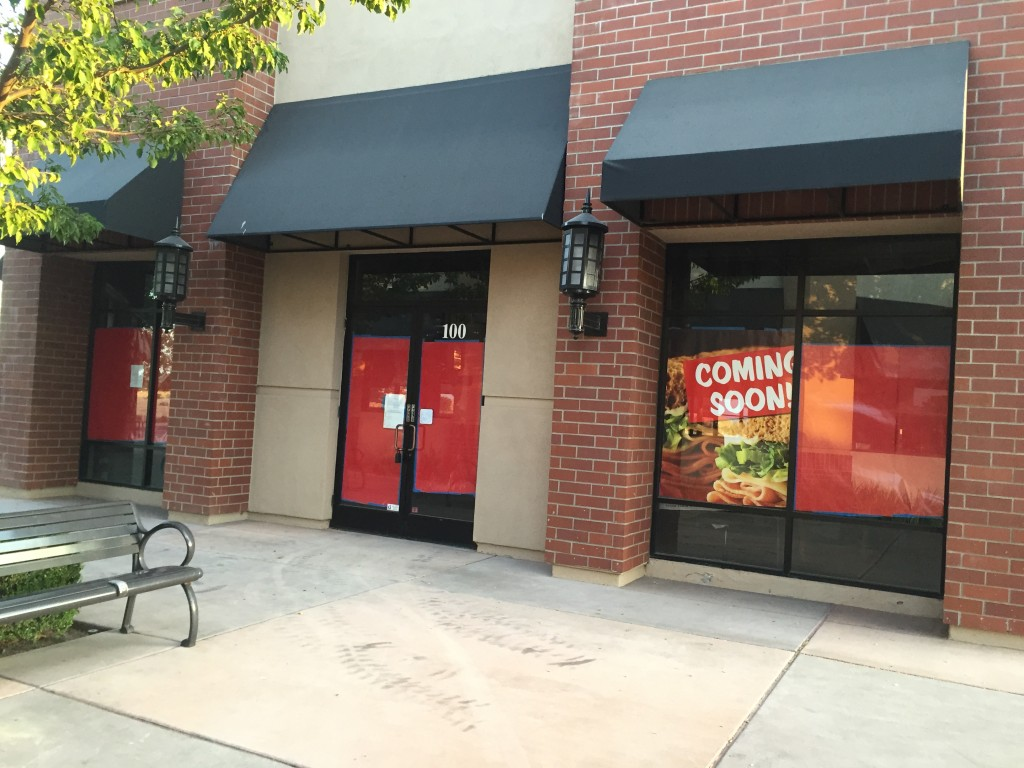 New Jimmy John's Gourmet Sandwiches restaurant will be located in form It's A Grind space.