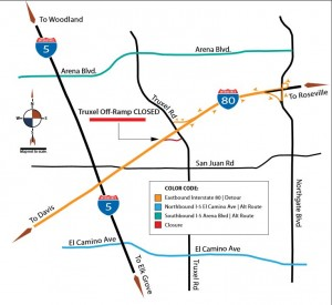 Dates Set for 21-day Truxel Off-ramp Closure