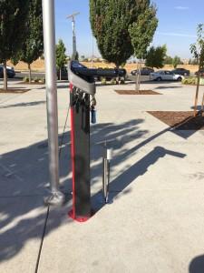 Seen in Natomas: New Bike Fix-It Station