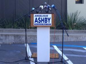 Angelique Ashby Announces Run for Mayor