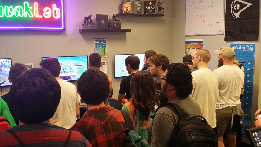 Gaming tournaments draw large crowds to Gamerz Phunk Lab. / Courtesy Photo