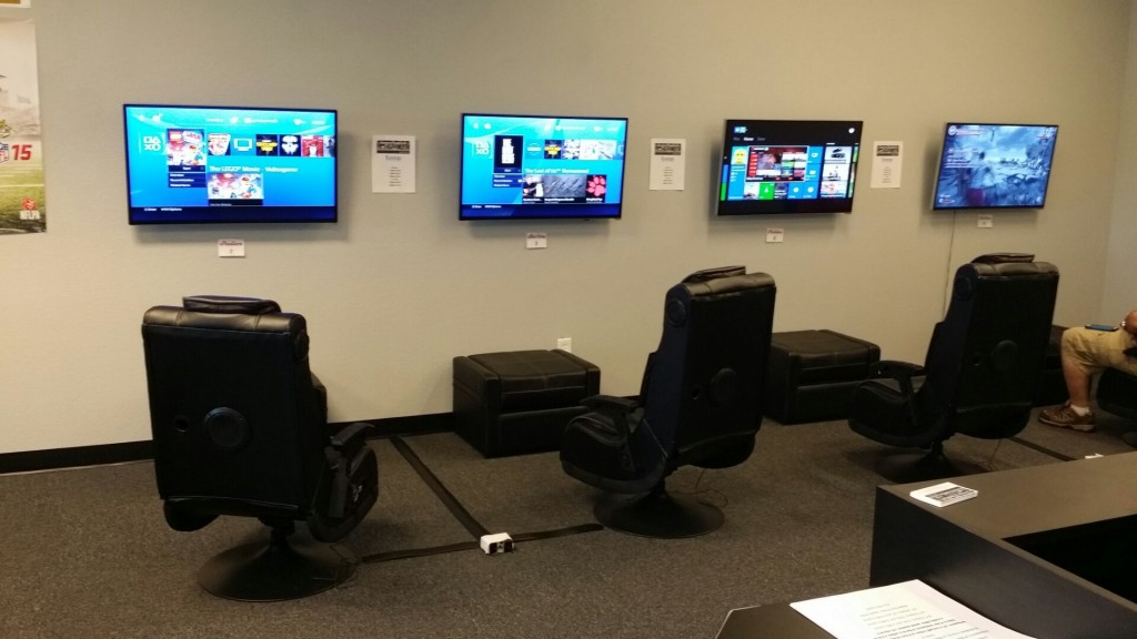 Gamerz Phunk Lab's gaming lounge in Natomas. / Courtesy Photo