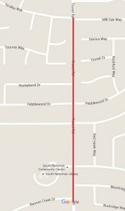Sidewalk Closures this Week in Natomas