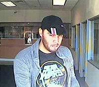 Alleged bank robbery suspect. / Photo: SacPD