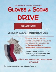 Natomas Cares: Inderkum Sock & Glove Drive