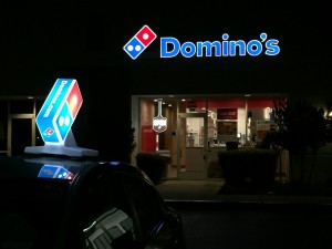 Seen in Natomas: Second Domino's Location