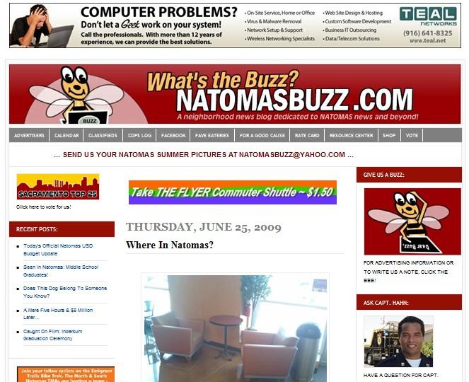 Vintage NatomasBuzz.com