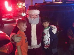 Santa Starts Annual Trek Through North Natomas