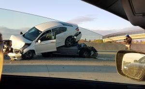 Four-Car Pileup Delays Traffic Through Natomas