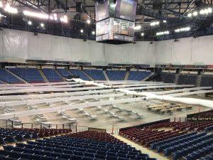 Old Arena in Natomas Readies for Patients