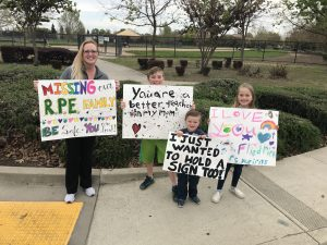 Natomas Teachers Parade to Cheer Up Students
