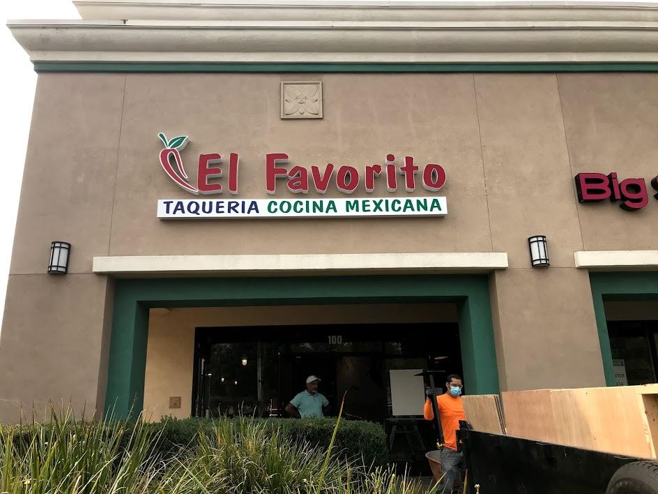Image of El Favorito sign.