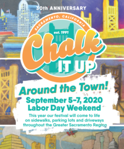 Image of Chalk It Up! flyer.