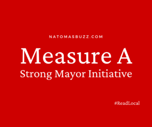 Image of words Measure A Strong Mayor Initiative