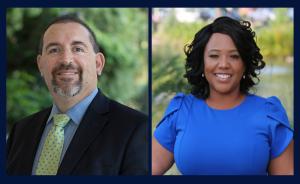 Image of candidates Scott Dosick and Ericka Harden