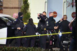 Image of police at crime scene.