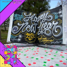 Better Days Ahead Happy New Year 2021 Keep Your Head Up Youth Action Corps
