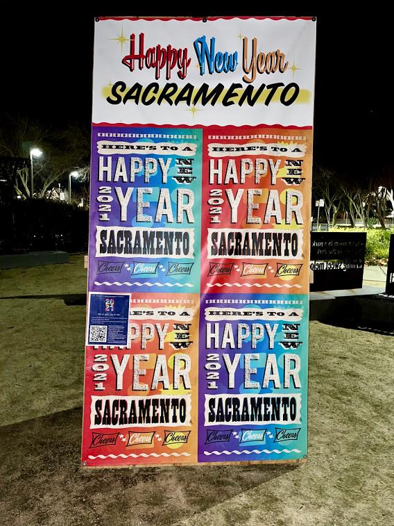 Happy New Year Sacramento 2021 Cheers