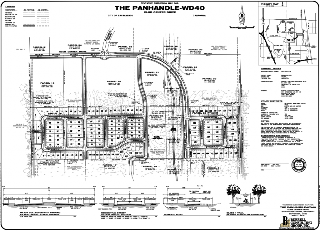 The Panhandle-WD40 Tentative Subdivision May