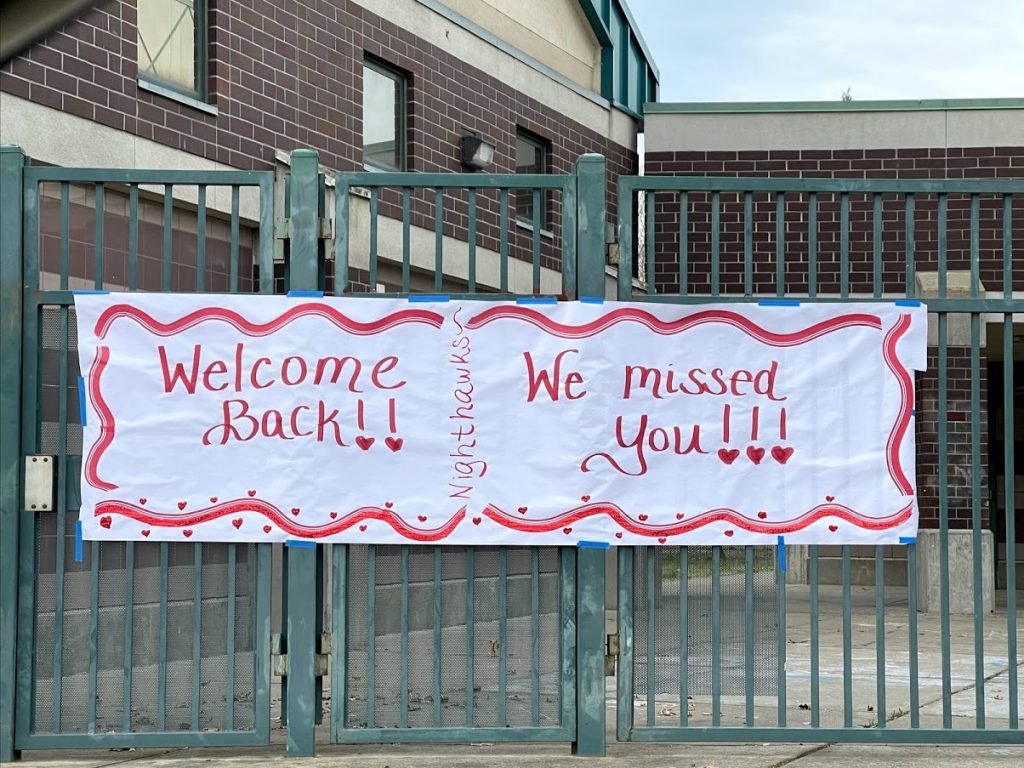 Welcome Back! We Missed You!