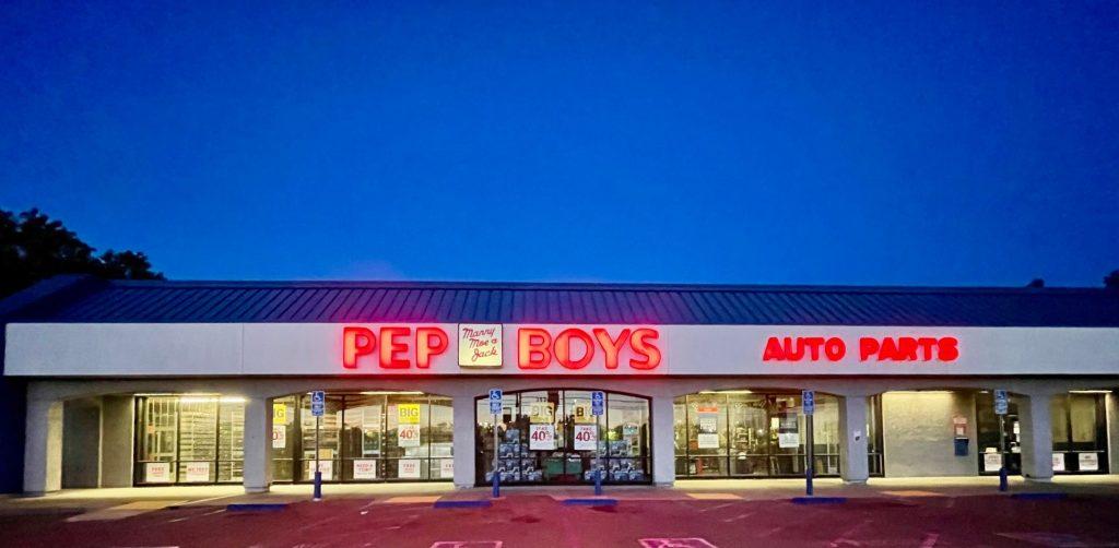 Pep Boys Manny Moe & Jack Auto Parts